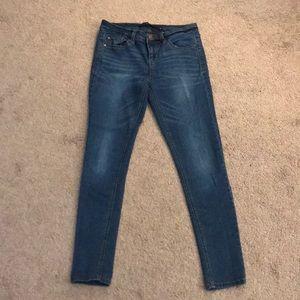 Comfy blue Harper jeans!